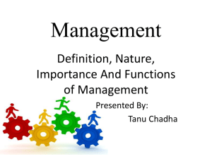PPTs - School of Management Sciences, Varanasi