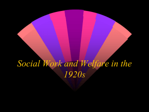 16 Social Work and Welfare in the 1920s Trattner 12