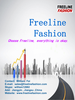 Product Catalog - Freeline Fashion Group Ltd