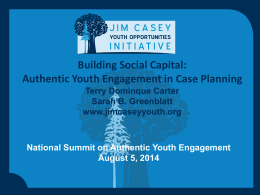 Authentic Youth Engagement in Case Planning