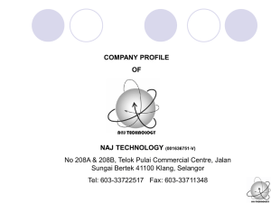 NAJ Technology Company Profile