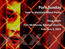 Sermon Slides  - Fort McMurray Alliance Church