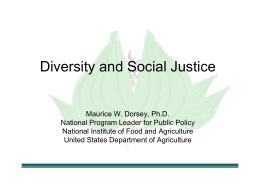 Session 42 - Diversity, Social Justice, and Inclusion