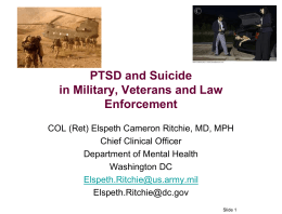 Improving Police Encounters with Veterans in