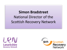 Simon Bradstreet National Director of the Scottish