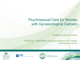 Understanding principles for psychosexual care Nursing Interventions