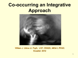 Co-occurring: Integrated Model