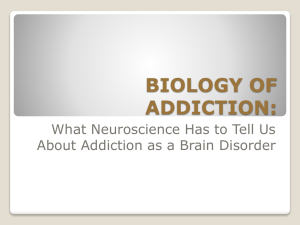 biology of addiction - Florida Alcohol and Drug Abuse Association