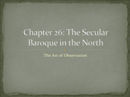Baroque in the North Presentation