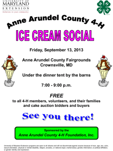 AACo Fair Ice Cream Social Flyer - Anne Arundel County 4