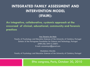 Integrated Family Assessment and Intervention Model