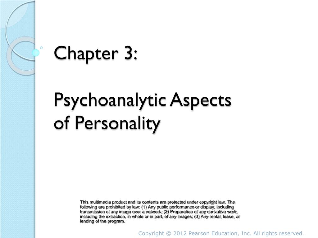 psychoanalysis emphasizes
