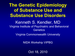 Title of Presentation - Virginia Institute for Psychiatric and Behavioral