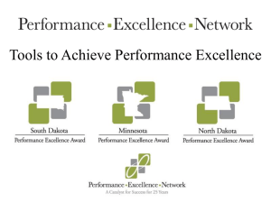 2013 Presentation Anderson - Performance Excellence Network