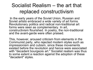 Socialist Realism – the art that replaced