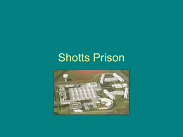 Shotts Prison - eduBuzz.org Learning Network