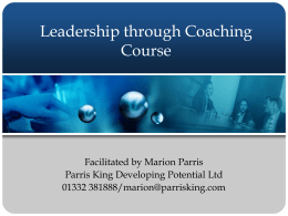 Click to add title - Leadership Development Coaching