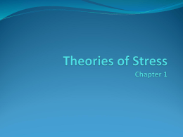 Theories of Stress