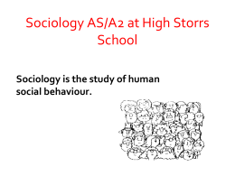 Sociology-subject-presentation-2014