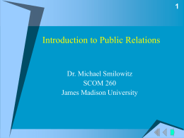 Public Relations as a Cyclical Process