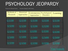 Fischer Psychology Powerpoint