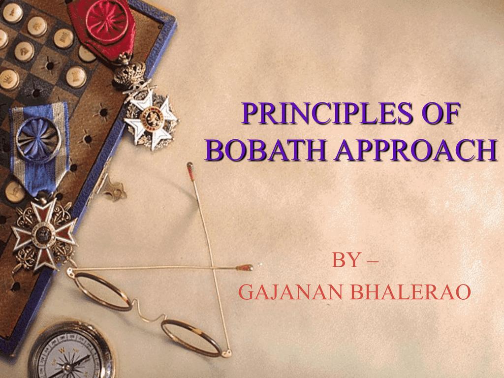 Principles Of Bobath Approach