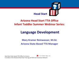 Language Development - Arizona Head Start Association