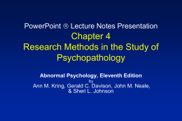 PowerPoint  Lecture Notes Presentation Chapter 4