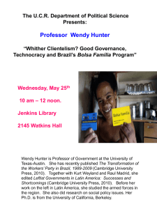 Professor Wendy Hunter