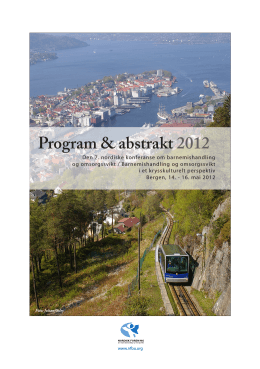 the book of Program & Abstracts