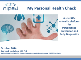 The Personal Health Check