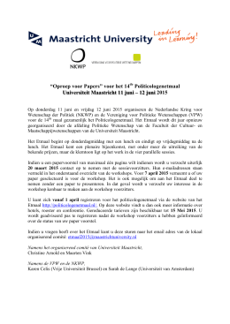 Politicologenetmaal 2015_Call_for_Papers