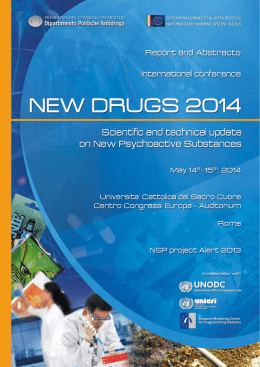New Drugs 2014 - Report e Abstract 1