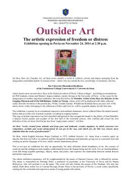 Outsider Art-Mostra