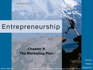 [06]. The Marketing Plan