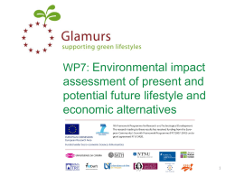 Environmental impact assessment of present and potential