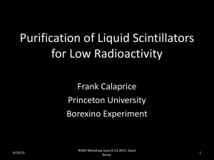 Low Background in the Borexino Liquid Scintillator (20): F