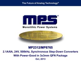 MP2312 MP8765