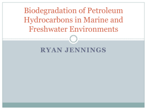 Biodegradation of Petroleum Hydrocarbons in Marine and