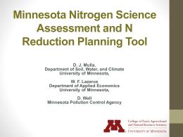 David Mulla, University of Minnesota