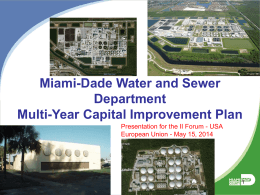 Miami-Dade Water and Sewer Department Multi