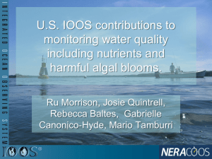 U.S. IOOS Contributions to Monitoring Water