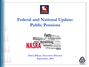 Federal/National Update by Dana Bilyeu