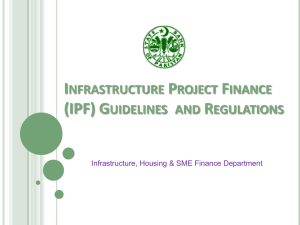 Infrastructure Project Finance