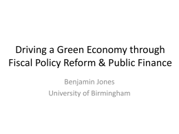 Benjamin Jones` Your Lecture presentation