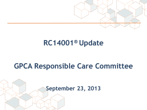 RC14001 Changes