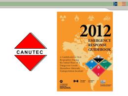ergo canutec 2012