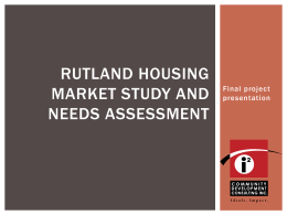 to download: Rutland Housing Study Presentation