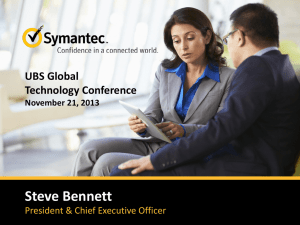 Integrated Ecosystem… Symantec + Others