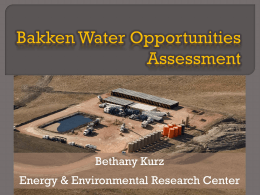 Bakken Water Opportunities Assessment – Phase 2